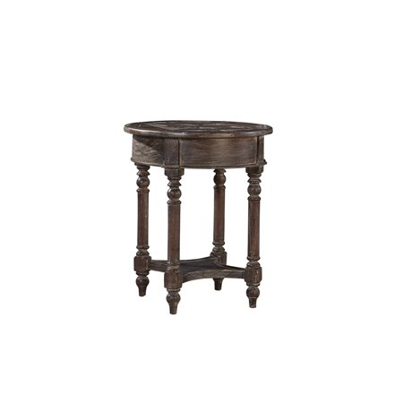 Augustine Traditional Mahogany Side Table