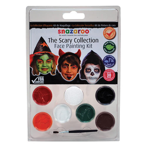 RubyRedPaint Scary Face Paint Clam Shell Kit