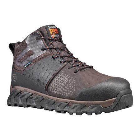 Mens Composite Toe Boots - Men's Timberland PRO Ridgework Mid WP Composite Toe Work Boot