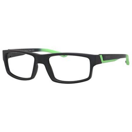 cc838f671a Smith Vagabond Eyeglasses 0MVD 55 Black React Green - Walmart.com