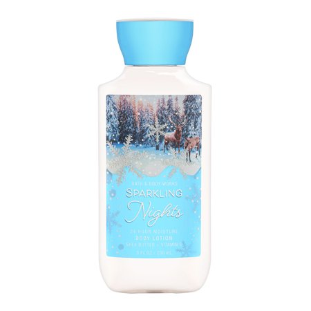 Bath & Body Works Sparkling Nights 8.0 oz 24 Hr Moisture Body