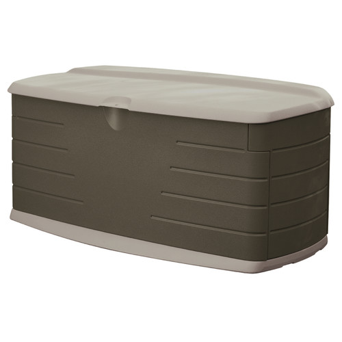 Rubbermaid 90 Gallon Resin Deck Box by Rubbermaid