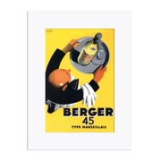 Berger 45 Wall Decal