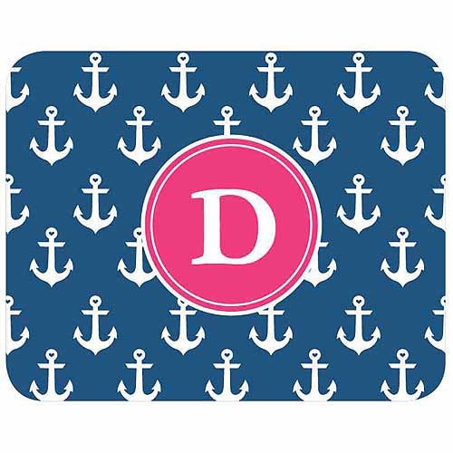 Personalized Anchors Away Mouse Pad
