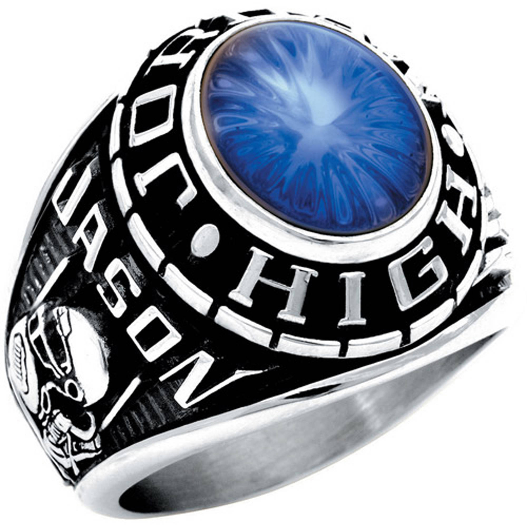 Keepsake Guy's Oval Class Ring
