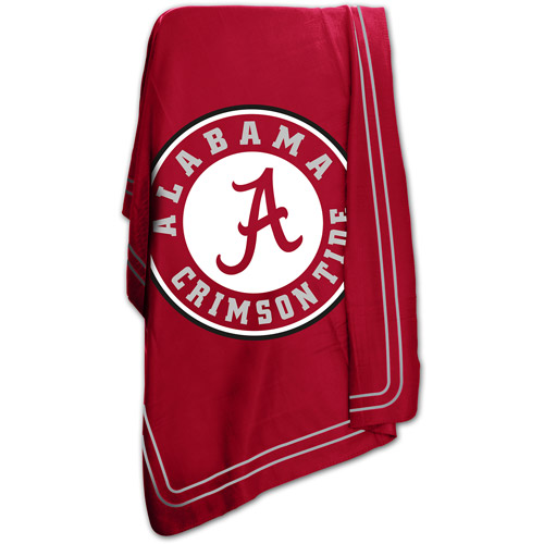 "Logo Chair NCAA Alabama 50"" x 60"" Classic Fleece Throw"