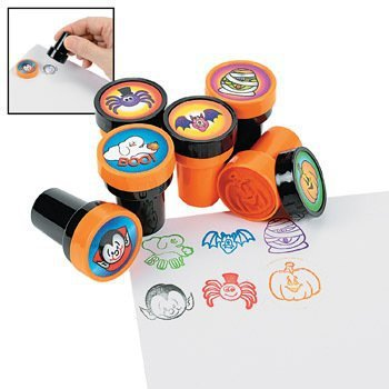 Fun Express Halloween Stamps - 24 per unit Science Kit - Halloween Express Jobs
