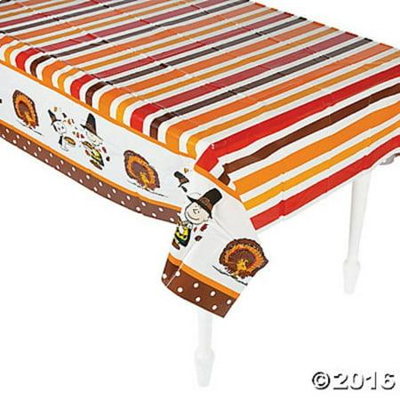 Peanuts Thanksgiving Table Cover Tablecloth Walmart Com
