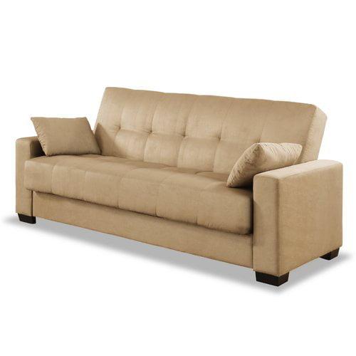 Serta Futons Boston Convertible Sofa   Walmart.com ...