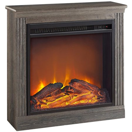 Ameriwood Home Bruxton Electric Fireplace, Multiple Colors ()