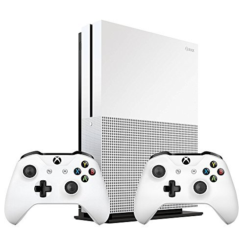 Refurbished Xbox One S 1TB Bundle Extra Xbox Wireless Controller White Console