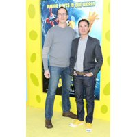 Glenn Berger And Jonathan Aibel At Arrivals For The Spongebob Movie Sponge Out Of Water Premiere Amc Theater At Lincoln Square New York Ny January 31 2015 Photo By Andres OteroEverett Collection Celeb