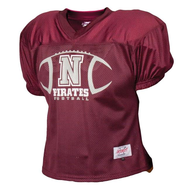 Intensity N3220Y603XLG Youth Football Practice Jersey, Maroon - Extra Large