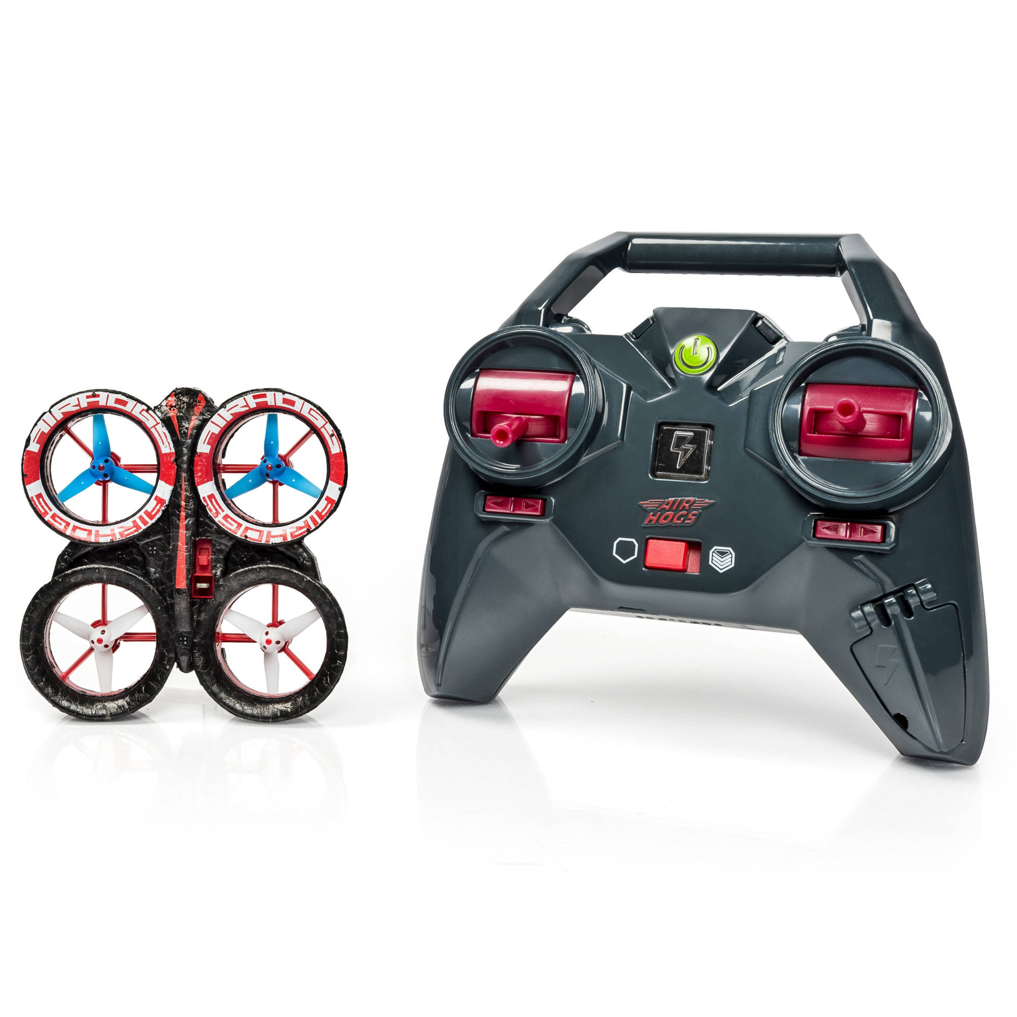 Air Hogs Helix Ion Drone 2 4 Red Black Walmart Com