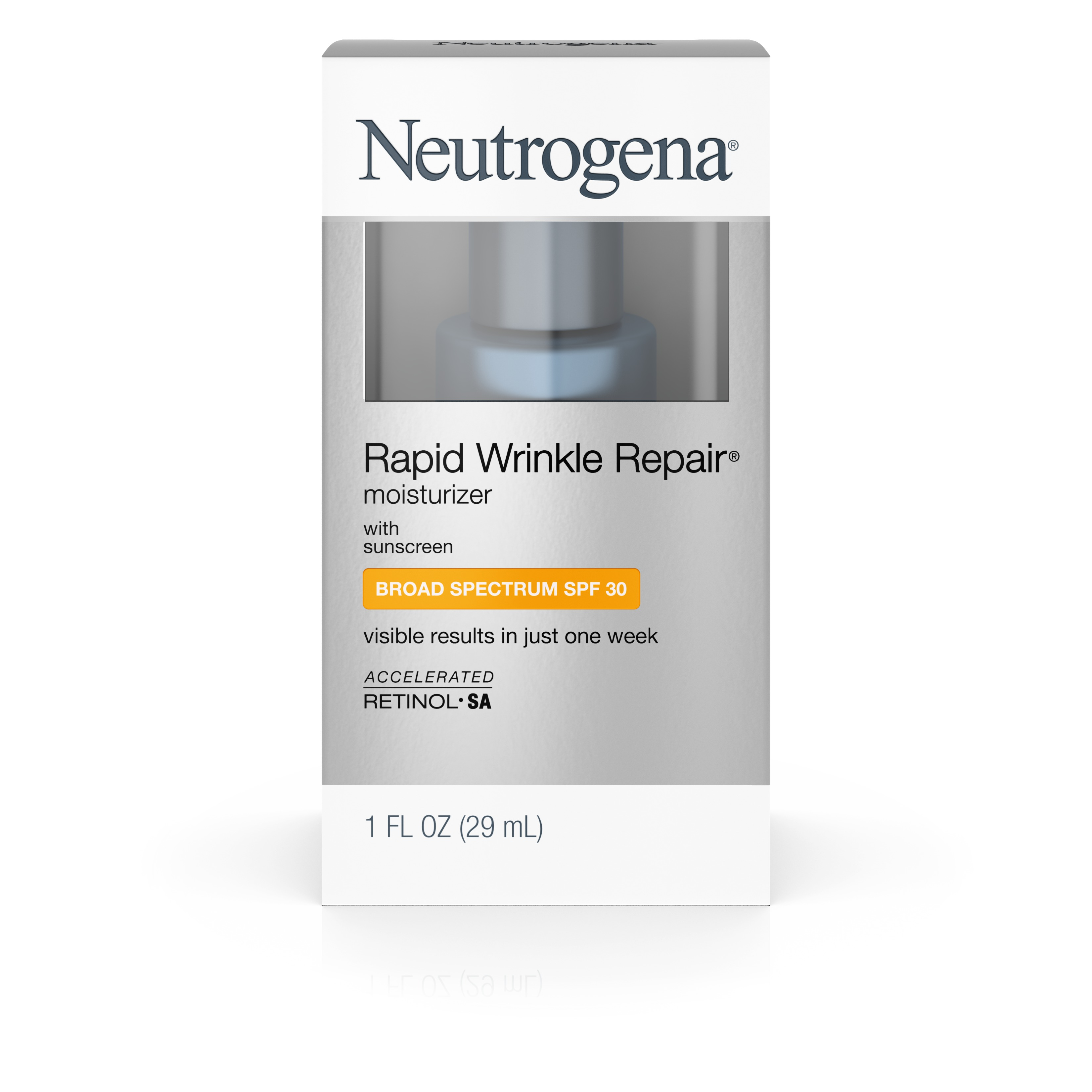 Neutrogena Rapid Wrinkle Repair Moisturizer With Spf 30, 1 Fl. Oz. - Walmart.com
