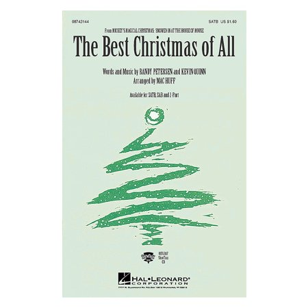 Hal Leonard The Best Christmas of All (from Mickey's Magical Christmas) (2-Part and Piano) 2-Part by Mac