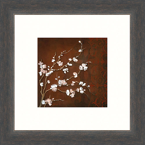 Cherry Blossoms on Cinibar II Print