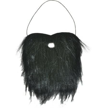 Black Mountain Man Facial Hair Bushy Beard Costume Accessory - Halloween Costumes With Mustache