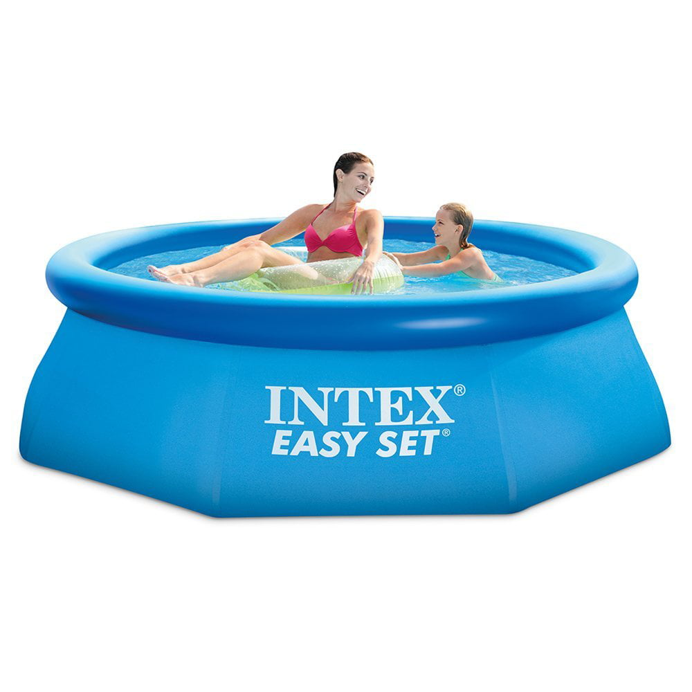 "Intex 8' x 30"" Easy Set Above Ground Swimming Pool with Filter Pump by INTEX TRADING LTD"