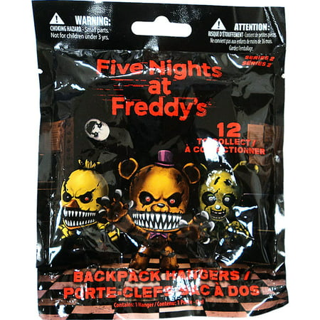 Five Nights At Freddy's Series 2 Backpack Keychain One Random Blind Box Mini Figurine