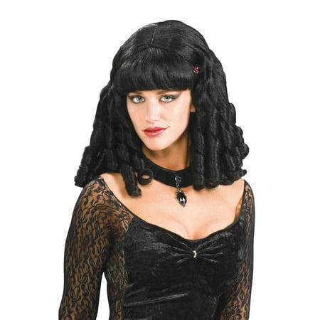 Scarlett Costume Wig (Black) - Vampiress Wigs