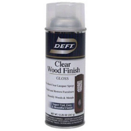 Clear Wood Finish Gloss Lacquer Spray To Seal & Finish Wood Furnitures