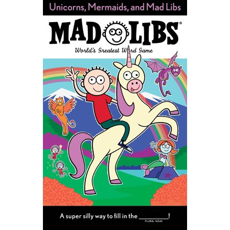 Unicorns, Mermaids, and Mad Libs - Mad Libs Halloween