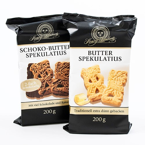 German Butter Spekulatius Cookies - Butter