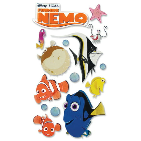 Disney Le Grande Dimensional Stickers, Finding Nemo