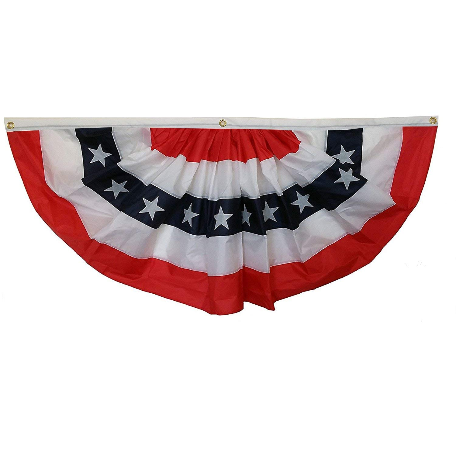 Vintage American Flag Bunting Stars and Stripes Weather Resistant Nylon NEW
