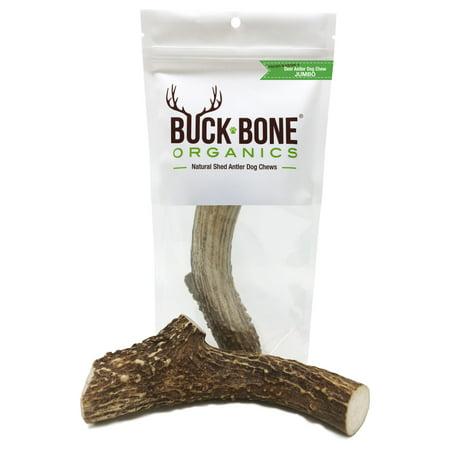 Deer Antler Single (Deer Antler Dog Chew by Buck Bone Organics, 6-7