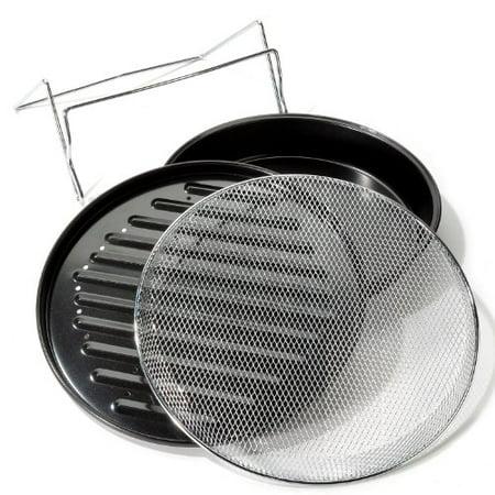 The Sharper Image Super Wave Oven Grilling Accessories Walmartcom