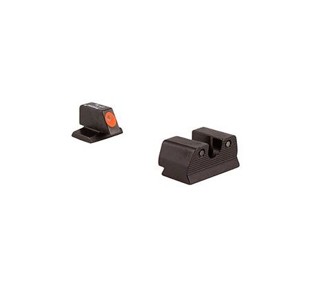 Trijicon HD XR Night Sight Set FNH FNS-9, FNX-9 and FNP-9, Orange Front Outline Lamp by Trijicon