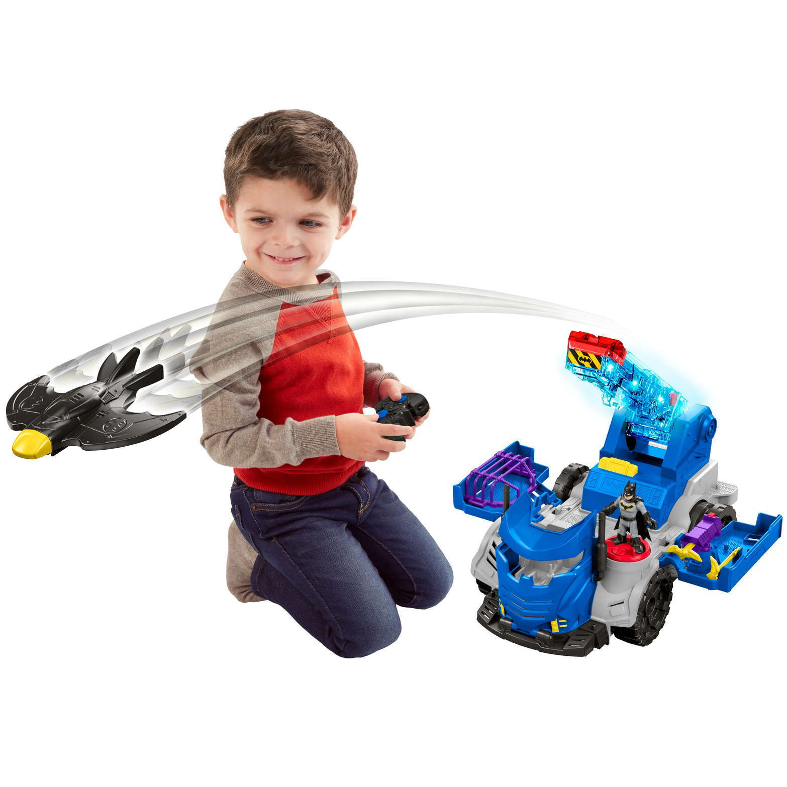 Fisher-Price Imaginext DC Super Friends RC Mobile Command Center