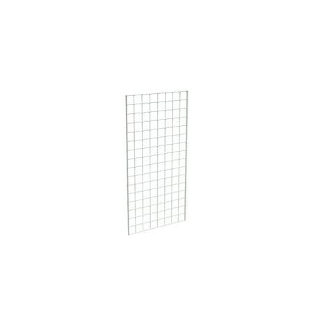 Grid Panel for Retail Display â Perfect Metal Grid for Any Retail Display, 2â Width x 4â Height, 3 Grids Per Carton (White)