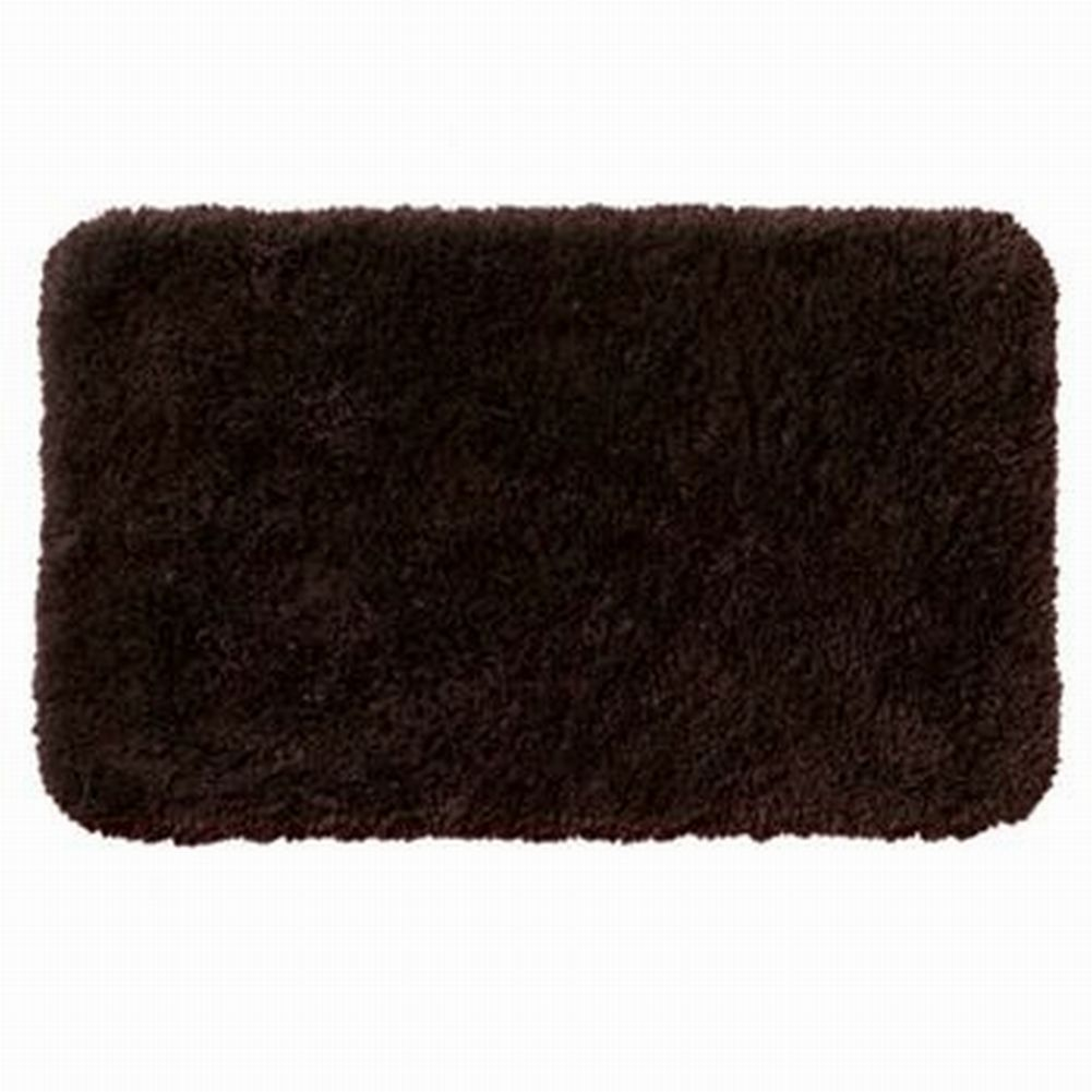 Apt 9 Dark Chocolate Brown Shag Throw Rug 17x24 Comforel