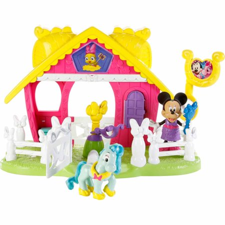 Fisher Price Disney Minnie Mouse Jump 'N Style Pony Stable by
