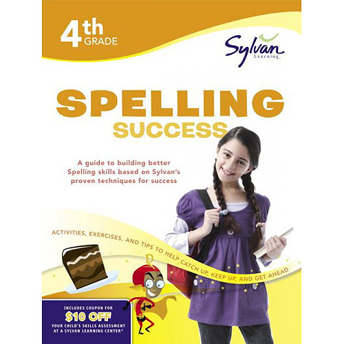 Fourth Grade Spelling Success (Sylvan Workbooks)