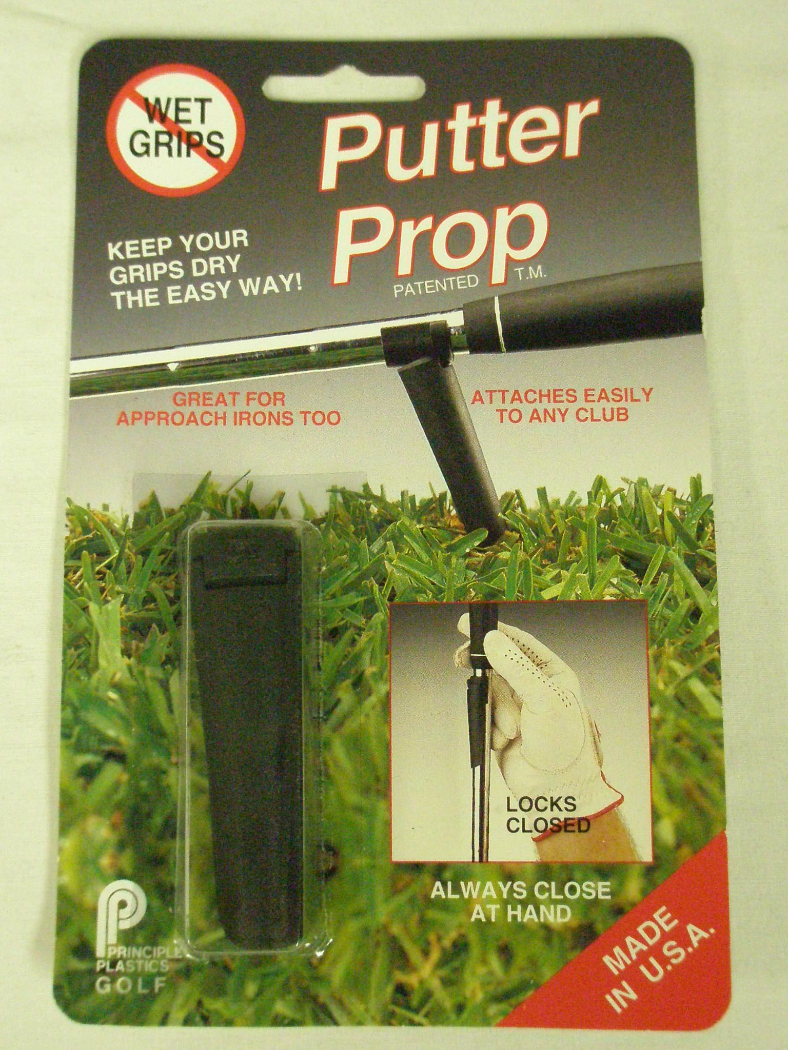 Putter Prop Club Stand (Wedge Holder) Golf Accessory New by Principle Plastics