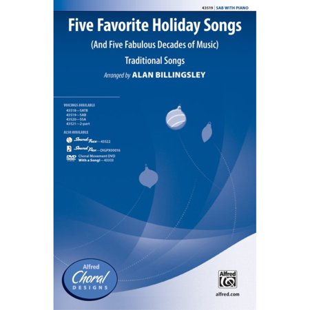 Five Favorite Holiday Songs - Traditional Songs / arr. Alan Billingsley ()