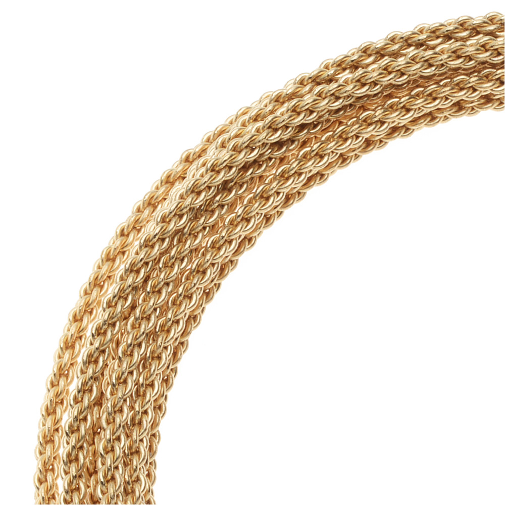 Artistic Wire, Braided Craft Wire 16 Gauge Thick, 7.5 Foot Coil, Tarnish Resistant Brass
