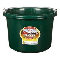 Little Giant 7403975 8 qt. Round Plastic Bucket - Green
