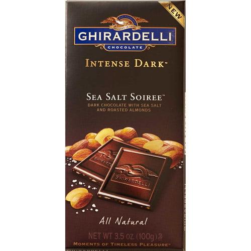 Ghirardelli Intense Dark Sea Salt Soiree Bar, 3.5 oz