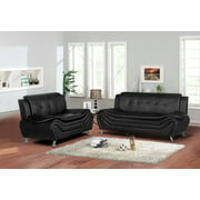 US Pride Furniture Sifford 2 Piece Living Room Set, Sofa, Loveseat