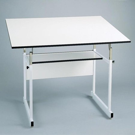 Alvin Workmaster Jr Adjustable Drafting Table Walmartcom