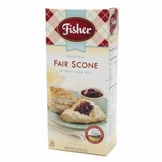 Fisher Original Fair Scone & Shortcake Mix, 18 oz by Fisher Mill