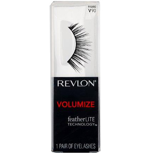 Revlon Volumize False Eyelashes, 91090 V90, 1 pr