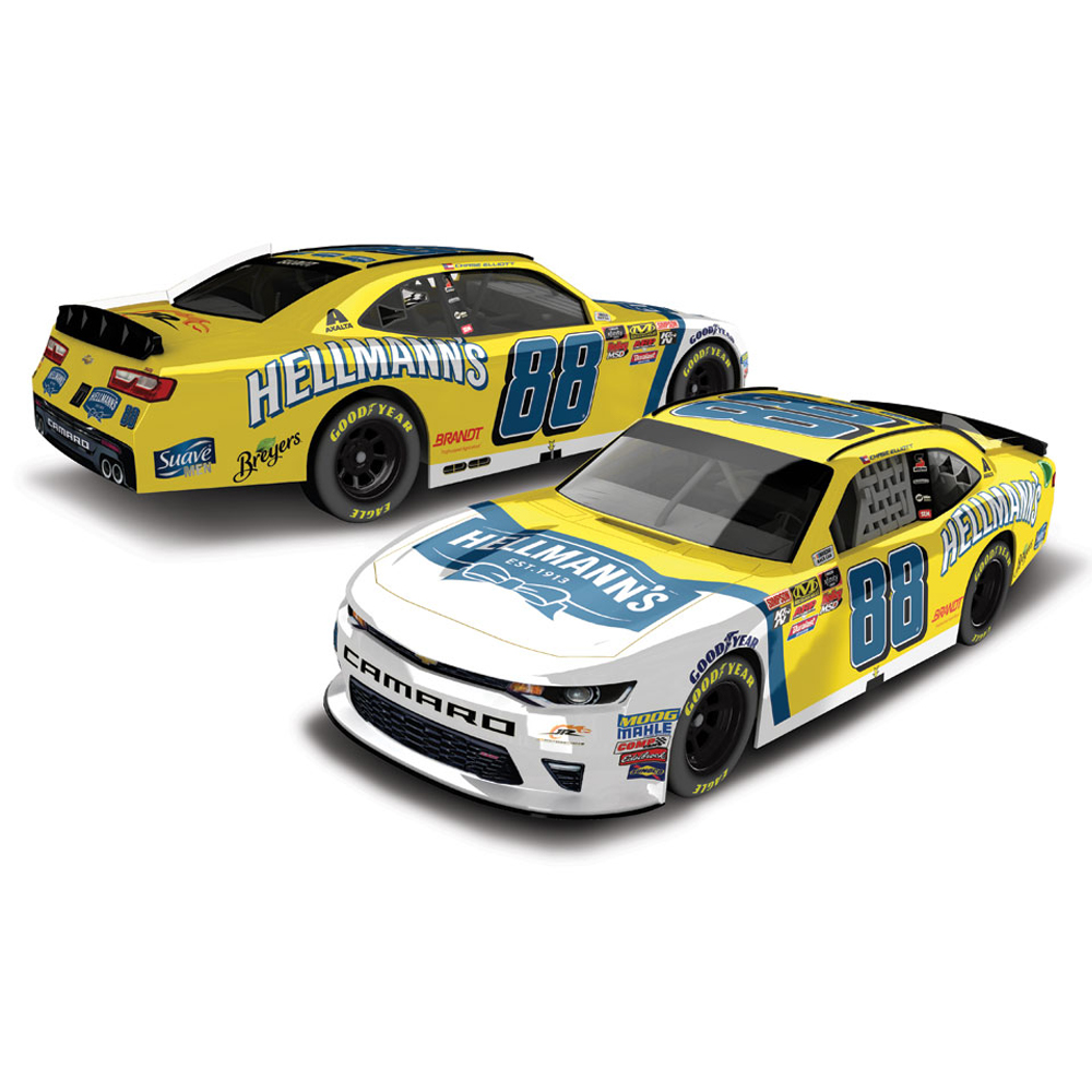Chase Elliott Action Racing 2018 #88 Hellmann's Nascar Xfinity Series 1:64 Regular Paint... by Lionel LLC