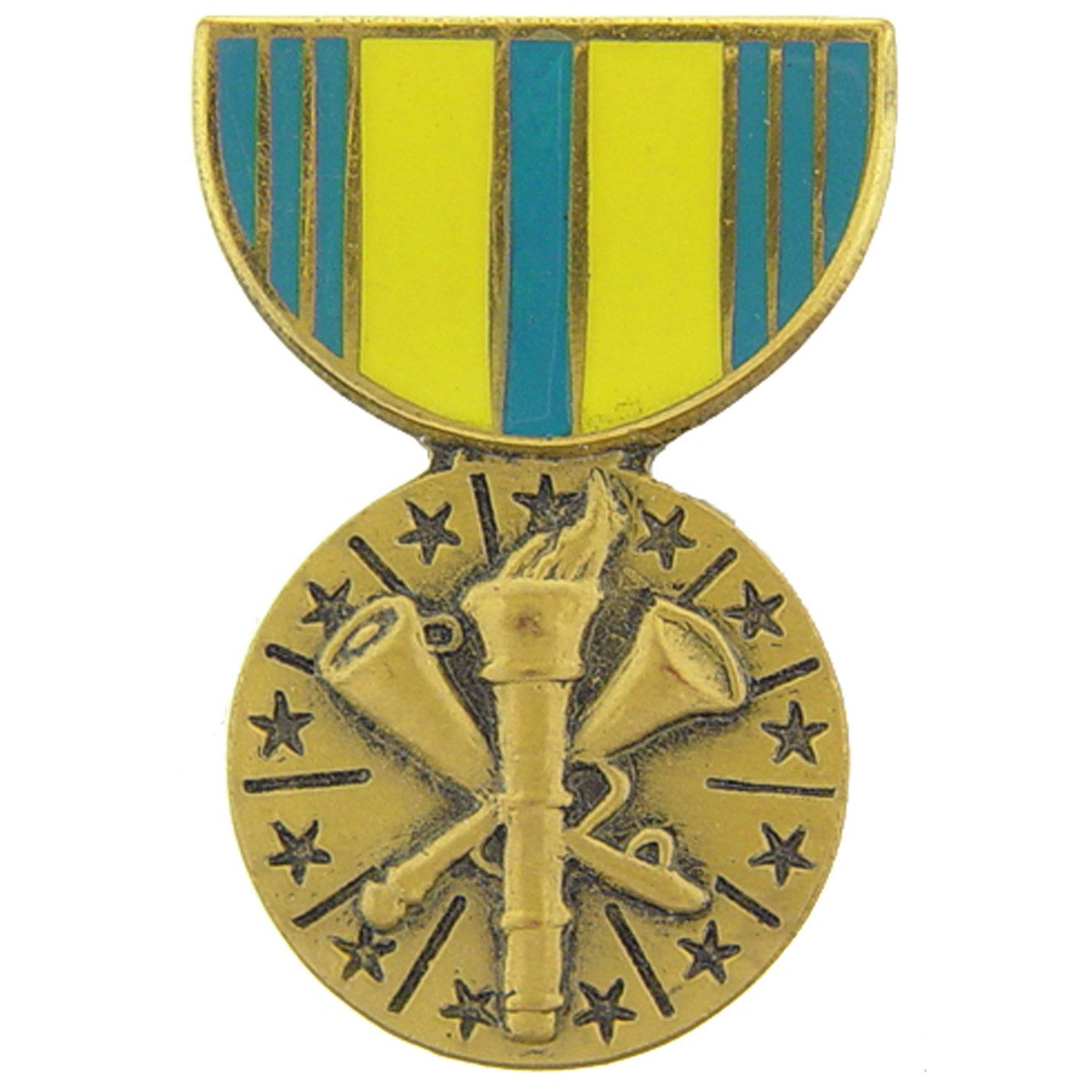 Armed Forces Reserve Medal Pin 1 3/16""