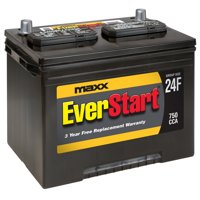 EverStart Maxx Lead Acid Automotive Battery, Group Size 24F